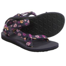 Teva Original Universal Floral Sport Sandals (For Women) in Purple Wine Floral - Closeouts