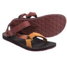 Teva Original Universal Gradient Sandals (For Men) in Fired Brick/Harvest Brown - Closeouts