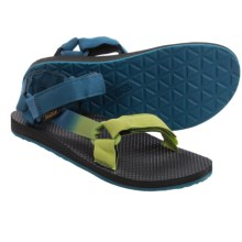 Teva Original Universal Gradient Sandals (For Men) in Legion Blue/Green - Closeouts