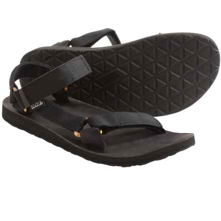Teva Original Universal Lux Sandals (For Men) in Black - Closeouts