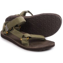 Teva Original Universal Lux Sandals (For Men) in Stone Grey - Closeouts