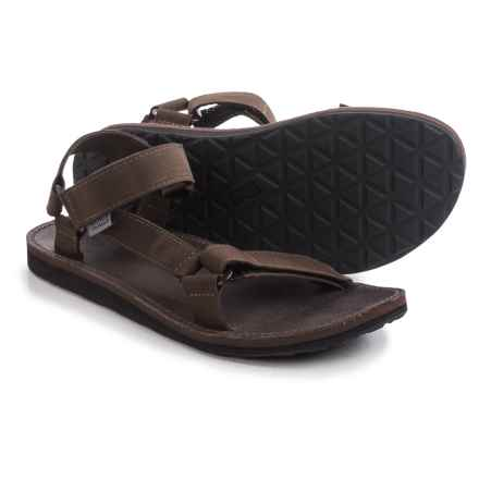 Teva Original Universal Menswear Sandals (For Men) in Brown - Closeouts