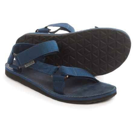 Teva Original Universal Menswear Sandals (For Men) in Navy - Closeouts