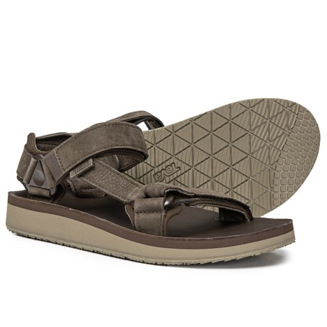 f7e124a61 Teva Original Universal Premier Sport Sandals - Nubuck (For Men) in  Chocolate Brown