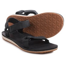 Teva Original Universal Premium Sandals - Leather (For Men) in Black - Closeouts