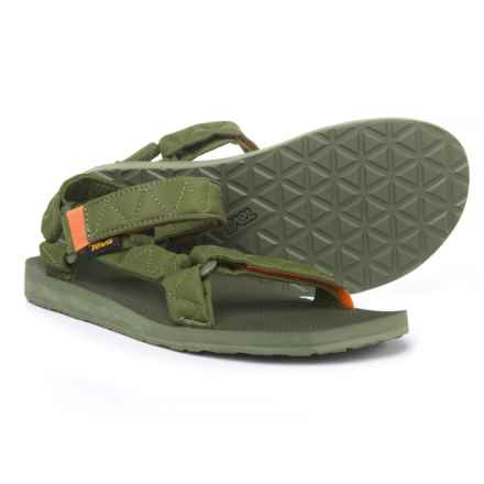 Teva Original Universal Puff Sport Sandals (For Men) in Winter Moss - Closeouts