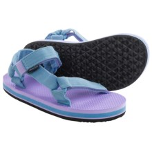 Teva Original Universal Sandals (For Little Girls) in Light Blue/Lavender - Closeouts