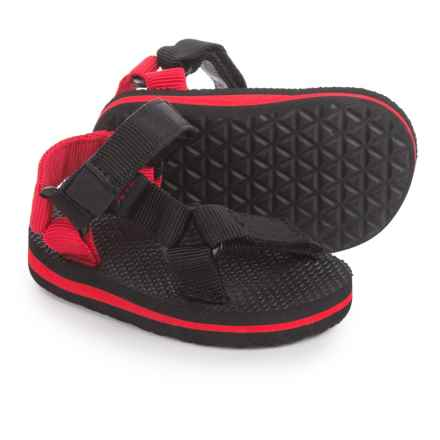 Teva Original Universal Sport Sandals (For Infants and Toddlers) in Black/Red - Closeouts