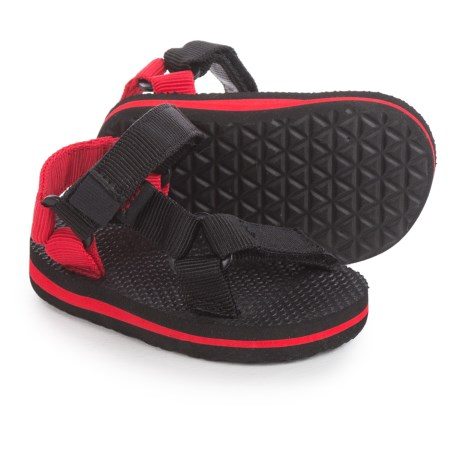Teva Original Universal Sport Sandals (For Infants and Toddlers) in Black/Red