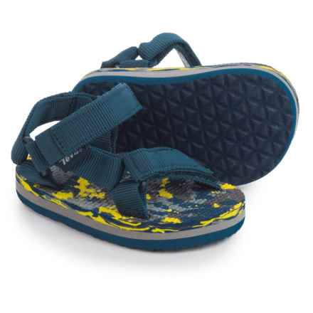 Teva Original Universal Sport Sandals (For Infants and Toddlers) in Navy/Marble - Closeouts