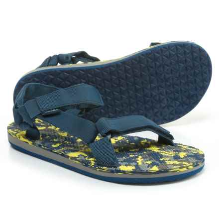 Teva Original Universal Sport Sandals (For Little and Big Kids) in Navy/Marble - Closeouts