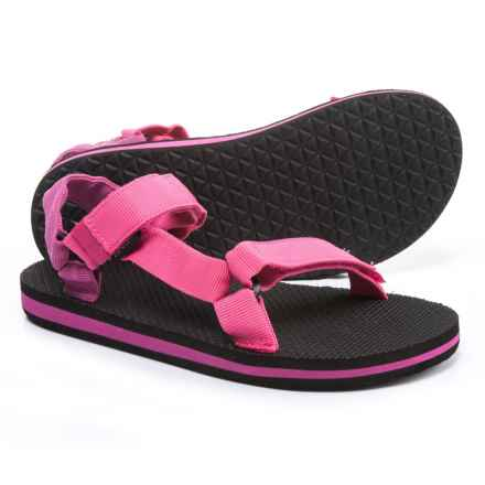 Teva Original Universal Sport Sandals (For Little and Big Kids) in Raspberry/Magenta - Closeouts