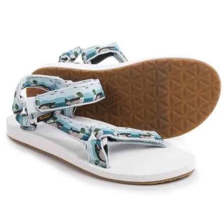 Teva Original Universal Sport Sandals (For Men) in Ducks Light Blue - Closeouts