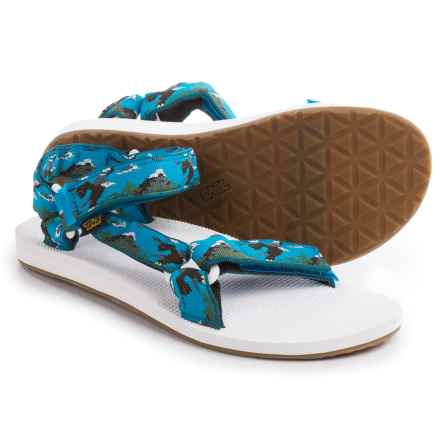 Teva Original Universal Sport Sandals (For Men) in Eagle Blue - Closeouts