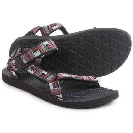 Teva Original Universal Sport Sandals (For Men) in Inca Black/Red - Closeouts