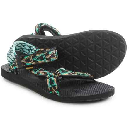Teva Original Universal Sport Sandals (For Men) in Mashup Black - Closeouts
