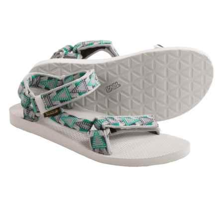 Teva Original Universal Sport Sandals (For Men) in Mosaic Grey - Closeouts