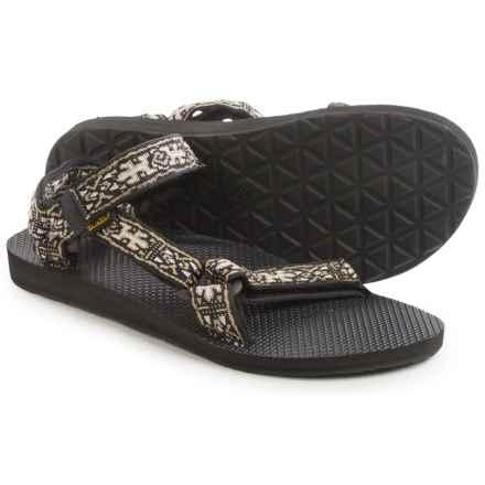 Teva Original Universal Sport Sandals (For Men) in Old Lizard Black - Closeouts