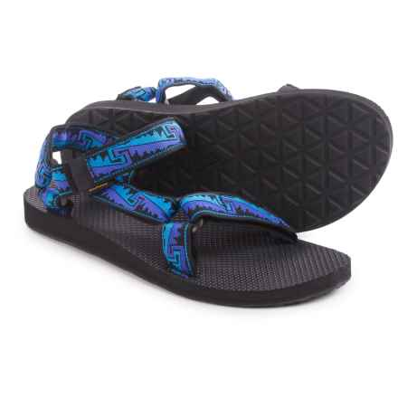 Teva Original Universal Sport Sandals (For Men) in San Rafael Blue - Closeouts