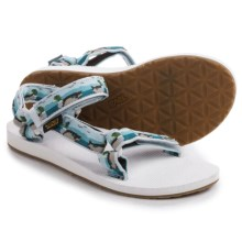 Teva Original Universal Sport Sandals (For Women) in Ducks Light Blue - Closeouts
