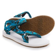 Teva Original Universal Sport Sandals (For Women) in Eagles Blue - Closeouts