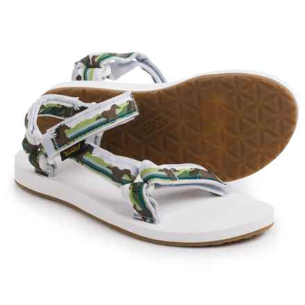 Teva Original Universal Sport Sandals (For Women) in Horses Green - Closeouts