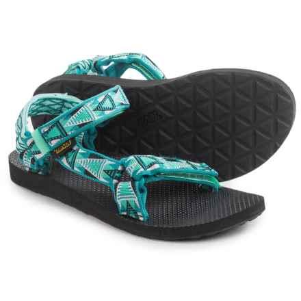 Teva Original Universal Sport Sandals (For Women) in Mashup Teal - Closeouts