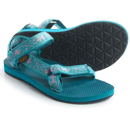 Teva Original Universal Sport Sandals (For Women) in Old Lizard Lake Blue - Closeouts