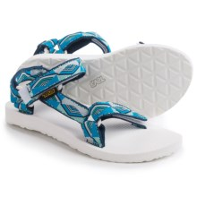 Teva Original Universal Sport Sandals (For Women) in Pyramid Blue - Closeouts