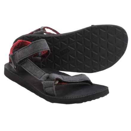 Teva Original Universal Workwear Sport Sandals (For Men) in Black - Closeouts