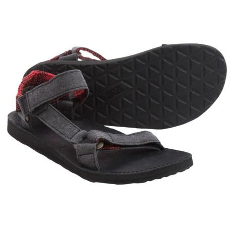 Teva Original Universal Workwear Sport Sandals (For Men) in Black