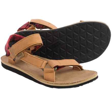 Teva Original Universal Workwear Sport Sandals (For Men) in Harvest Brown - Closeouts