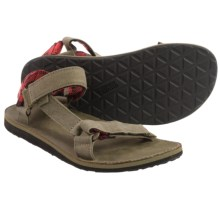 Teva Original Universal Workwear Sport Sandals (For Men) in Stone Grey - Closeouts