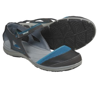 Teva Pasas Mary Jane Shoes (For Women) in Algiers Blue