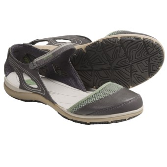 Teva Pasas Mary Jane Shoes (For Women) in Green