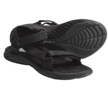 Teva Pretty Rugged 3 Sandals - Leather (For Women) in Black - Closeouts