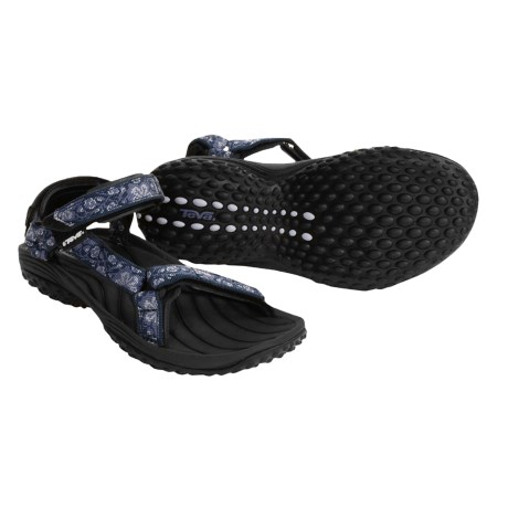 Teva Pretty Rugged Nylon 2 Sandals (For Women) in Flower Blue