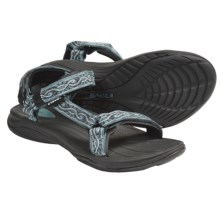 Teva Pretty Rugged Nylon 3 Sport Sandals (For Women) in Silky Arctic - Closeouts