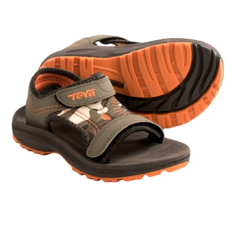 Teva Psyclone 2 Print Sport Sandals (For Kids and Youth) in Camo Dark Olive