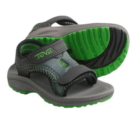 Teva Psyclone 2 Sport Sandals (For Infants) in Charcoal