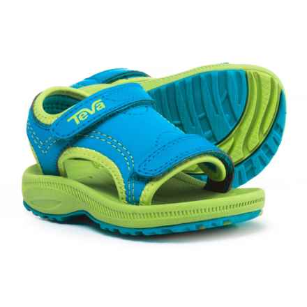 Teva Psyclone 4 Sport Sandals (For Infant and Toddler Boys) in Blue/Green - Closeouts
