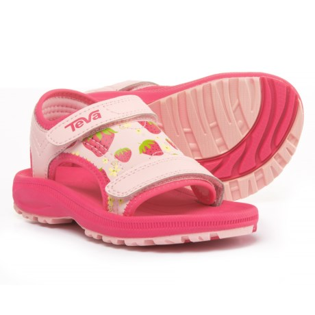 Teva Psyclone 4 Sport Sandals (For Infant and Toddler Girls) in Strawberry Pink