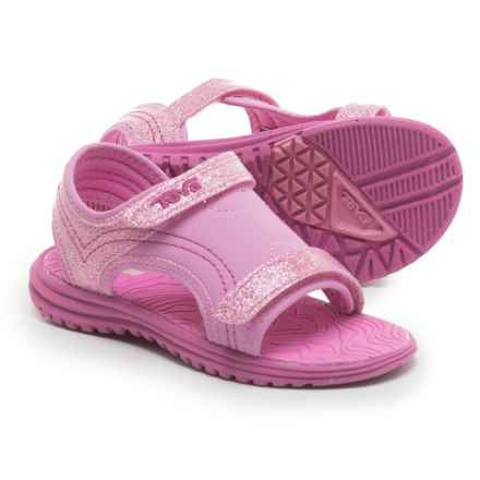 Teva Psyclone 6 Water Sandals (For Infants and Toddlers) in Pink Glitter - Closeouts