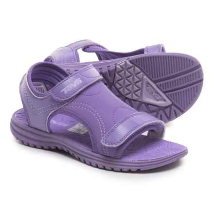 Teva Psyclone 6 Water Sandals (For Little Kids) in Purple - Closeouts