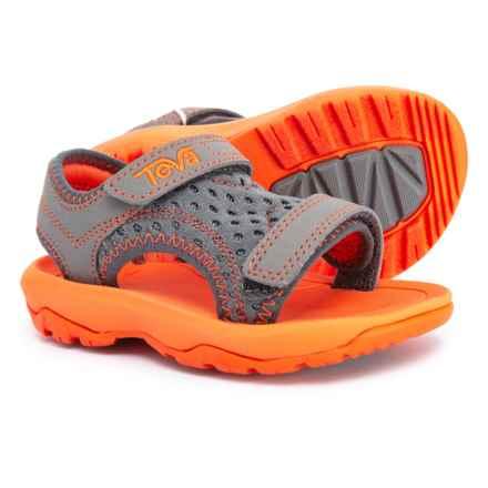 e7b89a821 Teva Psyclone XLT Sport Sandals (For Boys) in Grey Orange