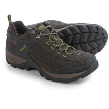 Teva Raith eVent® Trail Shoes - Waterproof (For Men) in Black/Olive - Closeouts