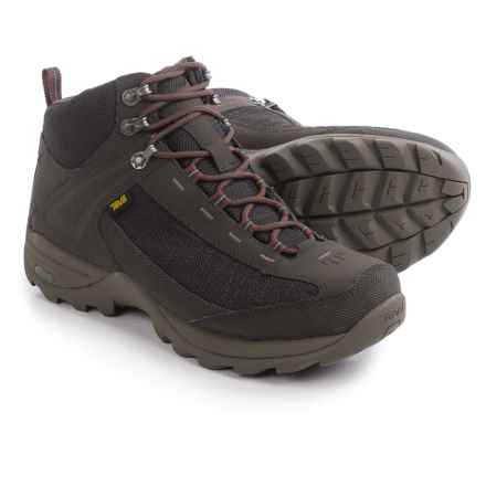Teva Raith III Mid Hiking Boots - Waterproof (For Men) in Black/Olive - Closeouts
