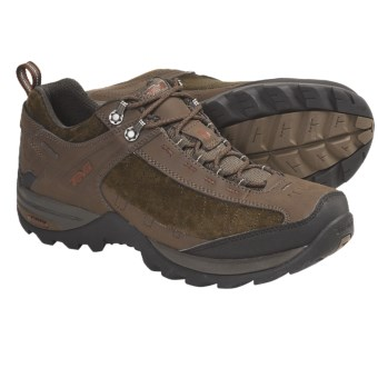 Teva Raith Leather Trail Shoes - Waterproof (For Men) in Teak