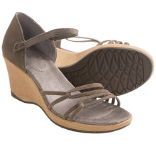 Teva Riviera Wedge Sandals - Suede, Wedge Heel (For Women) in Bungee Cord - Closeouts