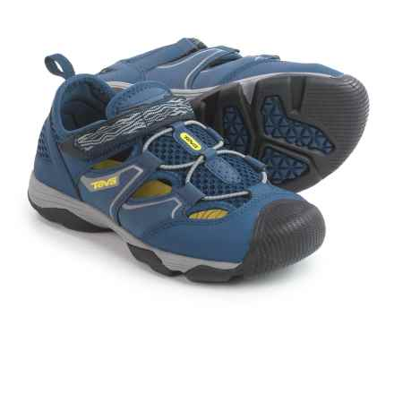 Teva Rollick Shoes (For Little Kids) in Navy - Closeouts